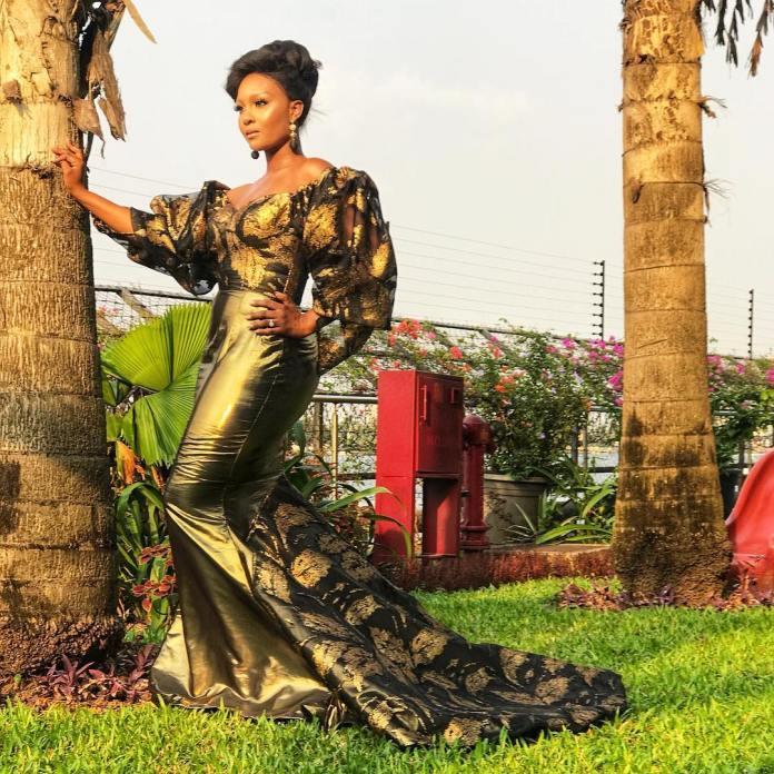 Aso Ebi Style: Five Times Osas Ighodaro Ajibade Sizzled In Stunning Styles 3