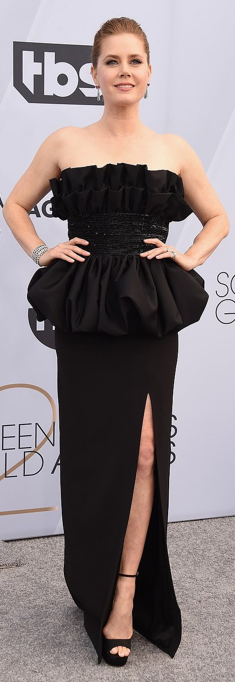 The Insider: Lady Gaga, Angela Bassett, Lupita Nyong'O Storm The Red Carpet Of The 2019 SAG Awards 16