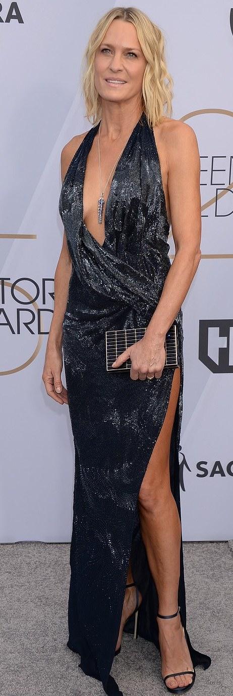 The Insider: Lady Gaga, Angela Bassett, Lupita Nyong'O Storm The Red Carpet Of The 2019 SAG Awards 8