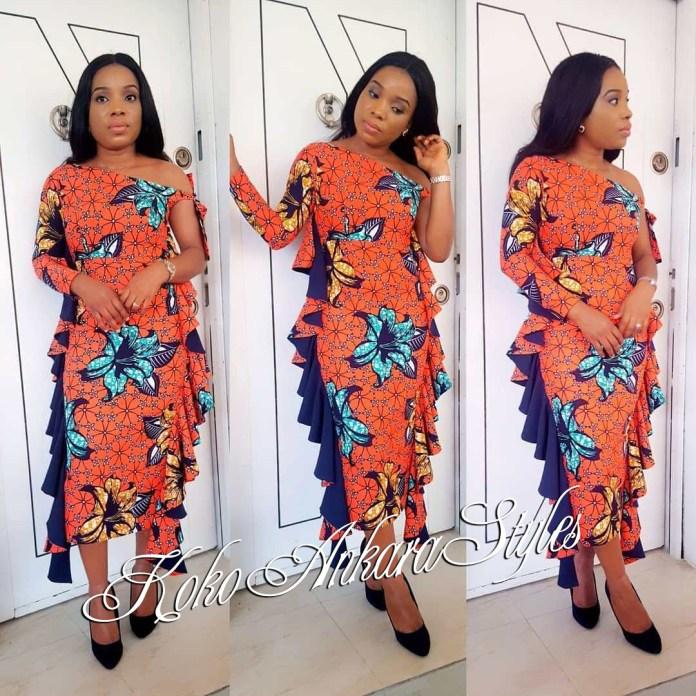 Ankara Styles: Fantastic New Designs Inspiration For The Elegant Look You Desire 4