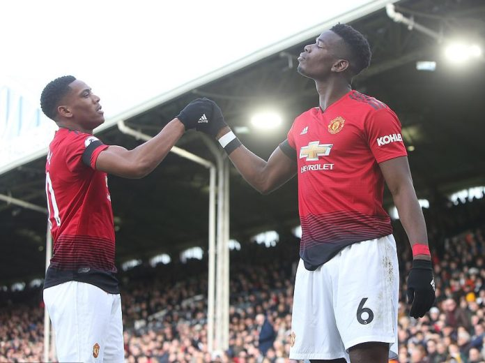 Fulham 0 Manchester United 3: Pogba Scores Twice Has Man United Returns to Top 4 Since August 4