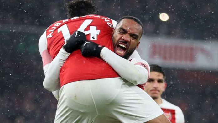 """""""My Favourite Role Is Playing Striker"""", Aubameyang Sends Message To Manager Emery 2"""
