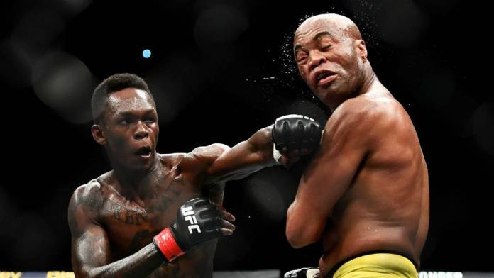 Meet Nigerian-New Zealand Mixed Martial Art Fighter Isreal Adesanya As He Defeats Anderson To Keep Unbeaten Record 2
