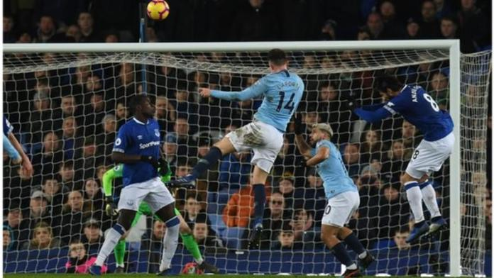 Everton 0 Manchester City 2: Laporte And Jesus Goals Sends Champions To The Top 2