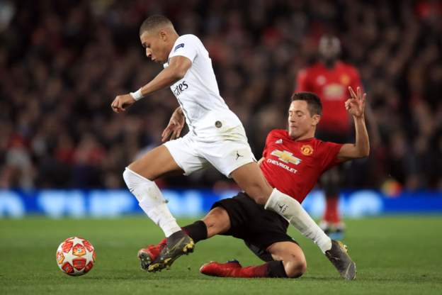 Manchester United 0 Paris St-Germain 2: Reality Bites As Kimpembe And Mbappe Goals Beats Reds Devils 6