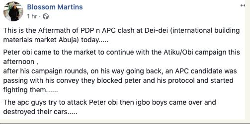 How Peter Obi Narrowly Escapes Death In Abuja 1