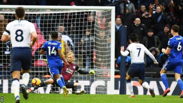 Tottenham 3 Leicester 1: Spurs Beat Foxes To Keep Title Hopes Ali 2
