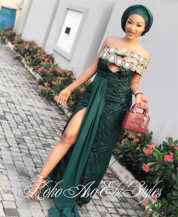 Aso Ebi With The Hot Sauce! These Five Styles Are A Definite Show-Stopper 5