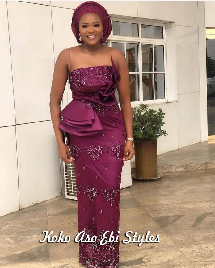 Aso-ebi Style: Five Stunning Wedding Guest Outfits That Are Totally Exquisite 5
