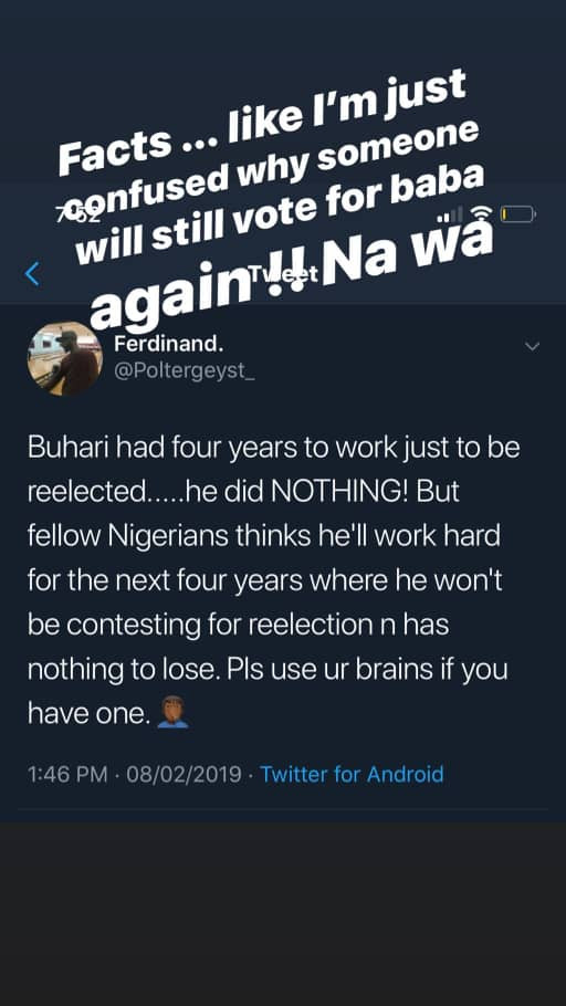 Davido Slams Buhari Again Says He's Confused On Why He Still Has Supporters 1