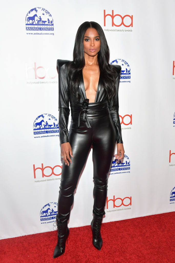 Ciara And Russel Wilson Step Out In Style For Hollywood Beauty Awards 1
