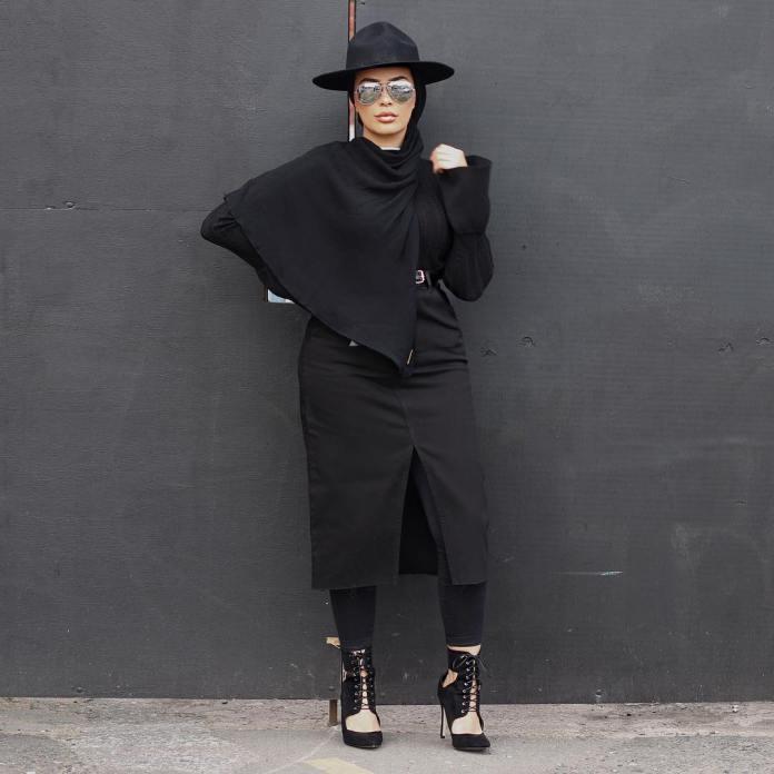 Muslimah Style: Six Times Habiba Da Silva Looked Ravishing In Chic Street Styles 2