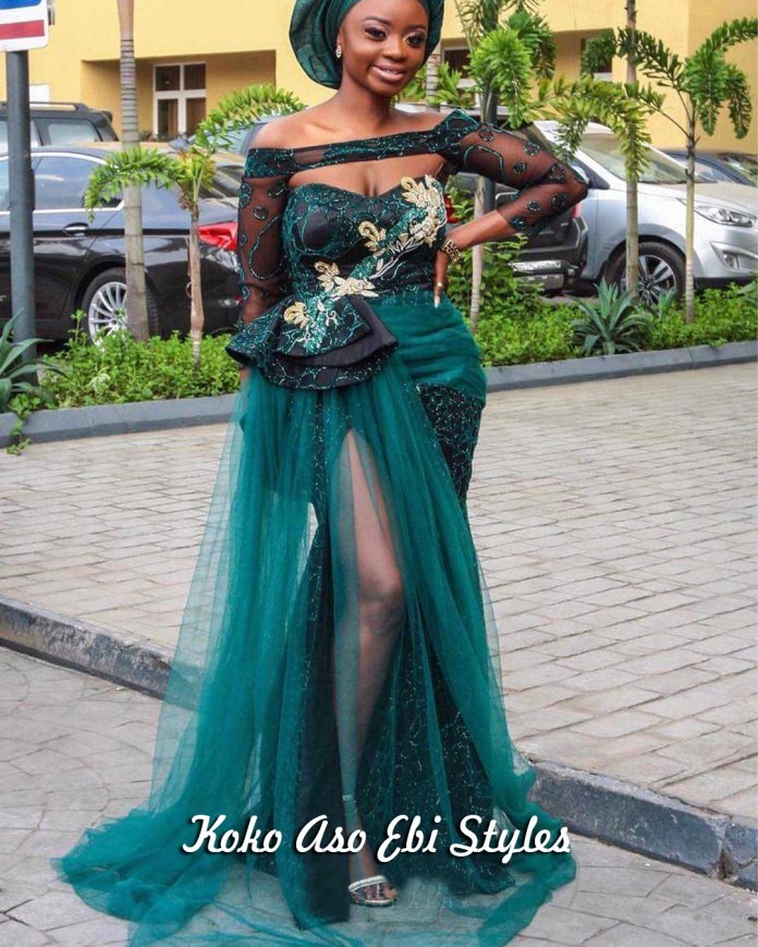 Aso-Ebi Style: See These Five Eccentric Aso-Ebi Styles That Are Sure To Turn Heads At Owanbes 3