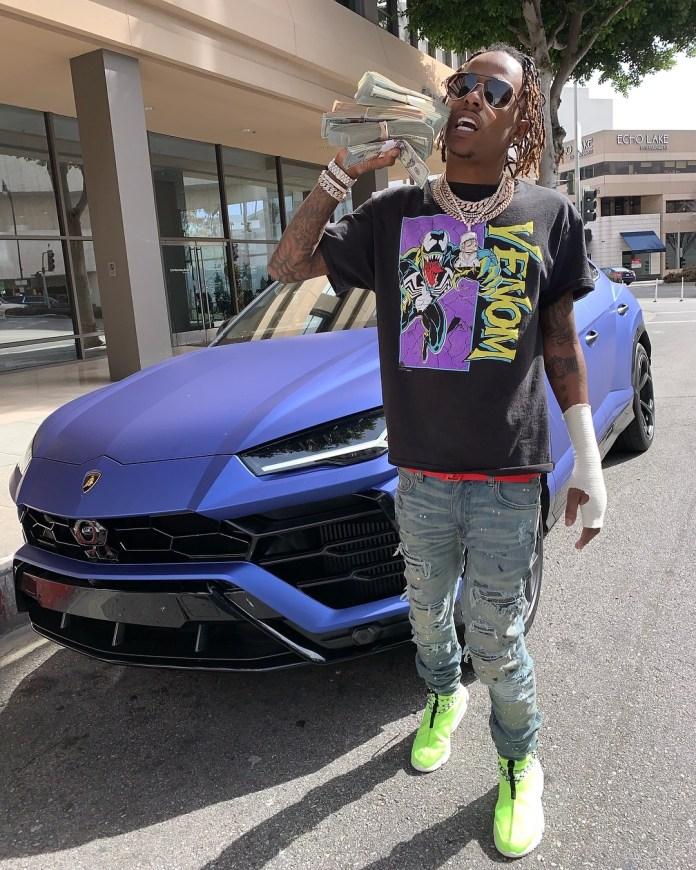 My God! Gunmen Attacks  Rich The Kid Where Usher Was Recording 3