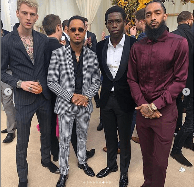 Eniko Hart, Meek Mill, Jay-Z, Beyonce, Usher And Others Attends Roc Nation's Pre-Grammys Brunch 8