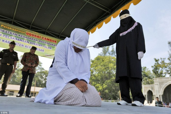 Is Having Sex Now A Crime? Women Flogged Publicly For Having Sex Outside Of Marriage 3