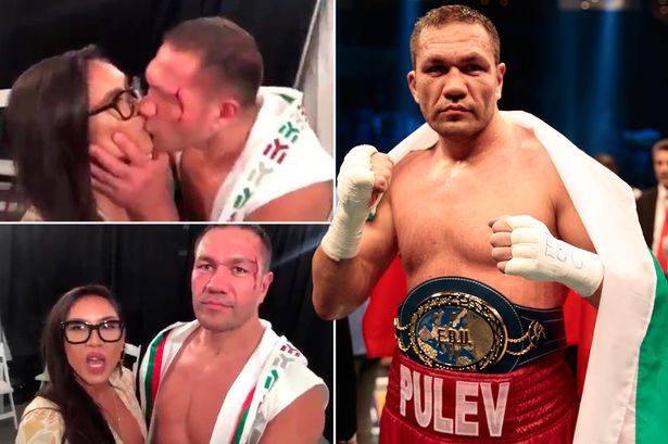Jenny Sushe: Kubrat Pulev's Boxing Licence Suspended Over Jennifer Ravalo's Post-fight Kiss 1