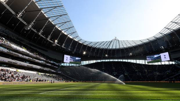 Boss Move! Tottenham's New £1bn Stadium Would Be 'Perfect' Stage For An Anthony Joshua Fight - Promoter Eddie Hearn 1