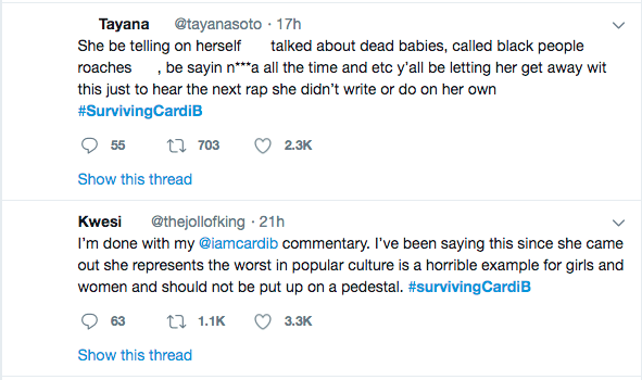 #SurvivingCardiB- Check Out The Reactions To Old Videos That Cardi B Drugged Men And Stole From Them 2