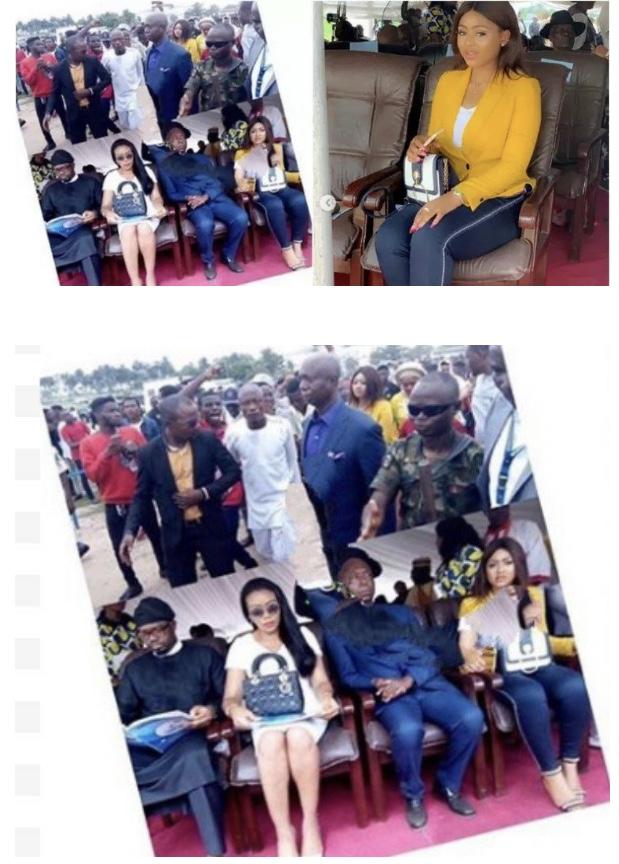 Finally! Regina Daniels And Her 'Husband', Ned Nwoko Seen Together In Public 2