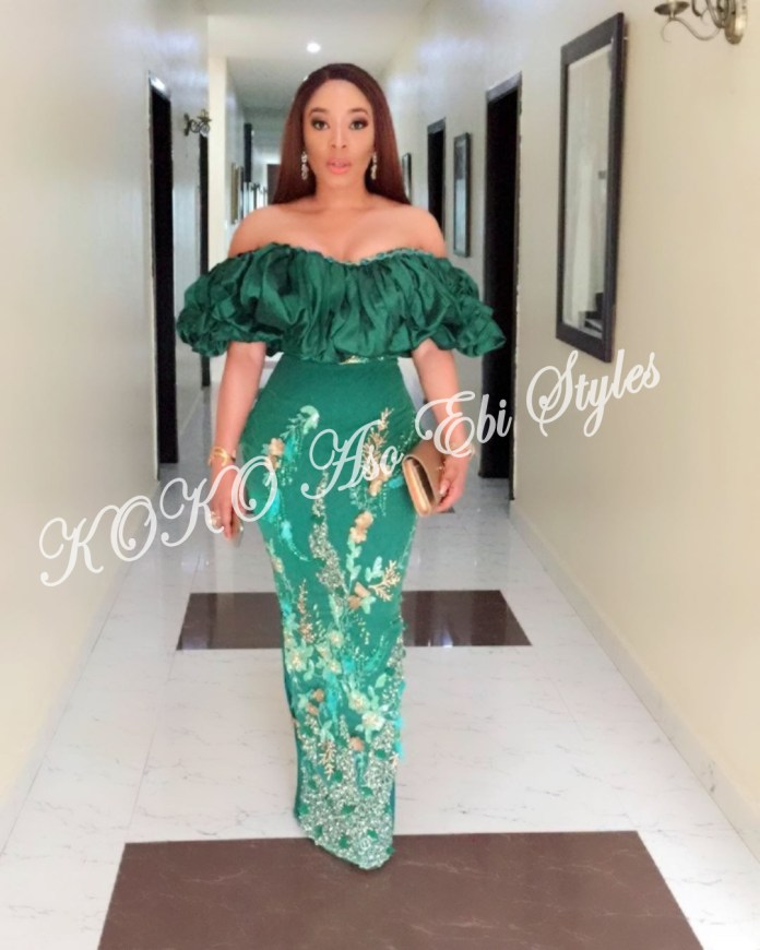 Five Utterly Stunning Aso-ebi Styles That Are Perfect For Your Next Owanbe 4