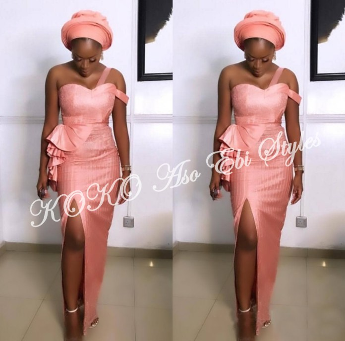 Ten Hot And Vibrant Aso Ebi Styles You Definitely Need To See! 6