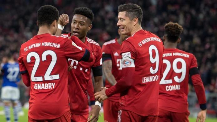Bundesliga Team Bayern Munich
