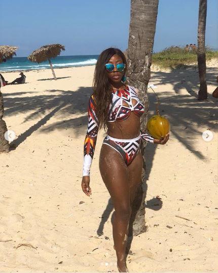Beverly Naya Flaunts Enviable Physique In SBFYNE Swimwear On Cuba Break 2
