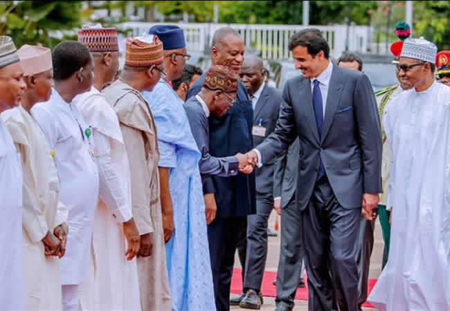 The Insider: Exclusive Photos Of President Buhari Hosting The Emir Of Qatar 4