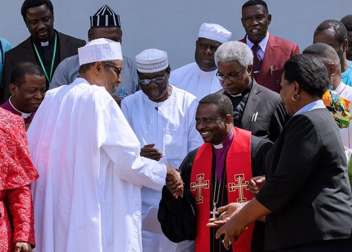 "Hey!! ""I Am Not Sleeping On Duty"", Buhari Replies Bishop Mamza 1"