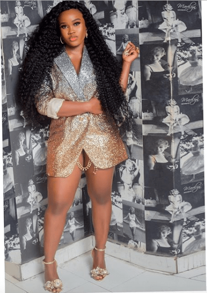 Ravishing! Cee-C Is The Sexy Queen In Gold Lingerie And Matching Jacket 3