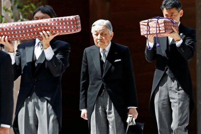 Japan's Emperor Akihito Abdicates In Historic Ceremony 2