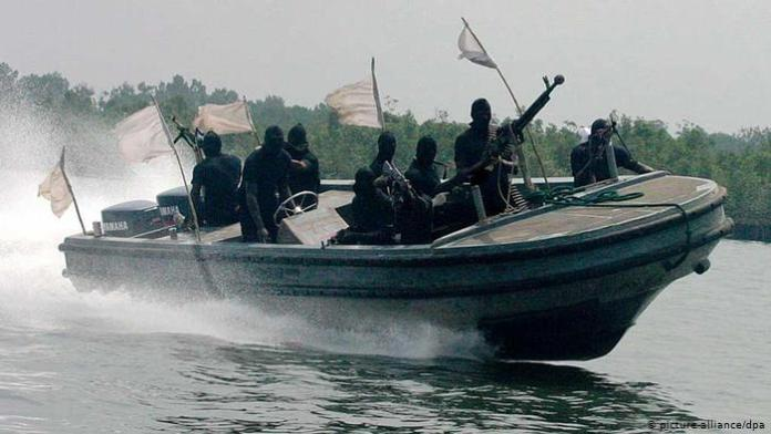 Nigerian Navy Arrests 19 Suspected Pirates Along With 2 Vessels 3
