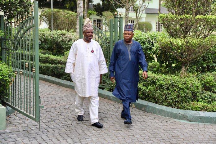 #SenatePresidency: Amosun, Shettima Holds Meeting Over Senate Presidency 3