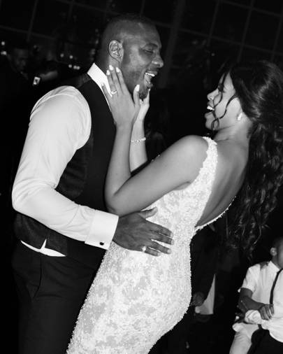 Sabrina Dhowre Ties The Knot With Idris Elba In Beautiful Vera Wang Gown 2