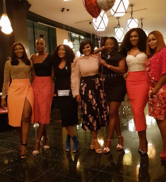 The Insider: Check Out The Photos From Ini Edo's Star Studded Birthday Dinner 8