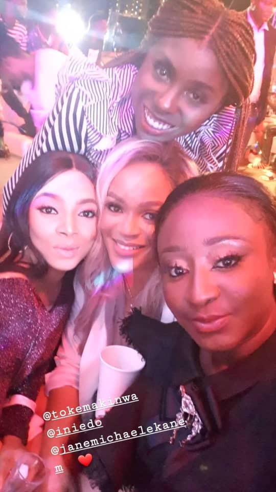 The Insider: Check Out The Photos From Ini Edo's Star Studded Birthday Dinner 7
