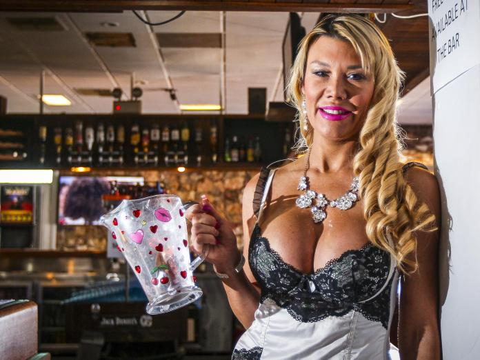 Topless Barmaid Considering Quitting As Customers No Longer Carry Cash 2