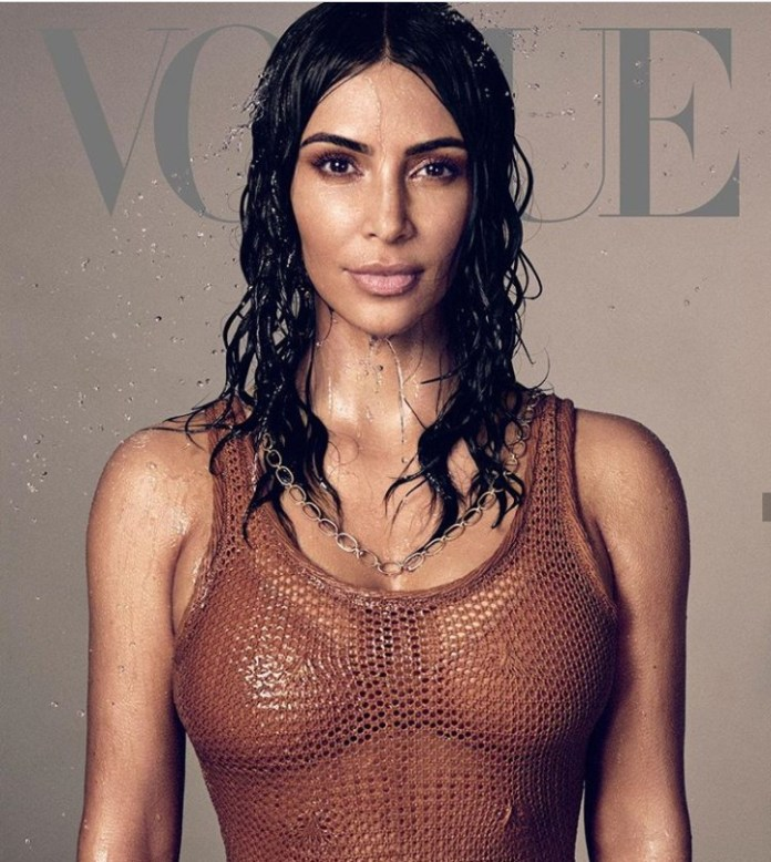 Get It Girl! Kim Kardashian Gets Her First Solo Cover On Vogue US 1