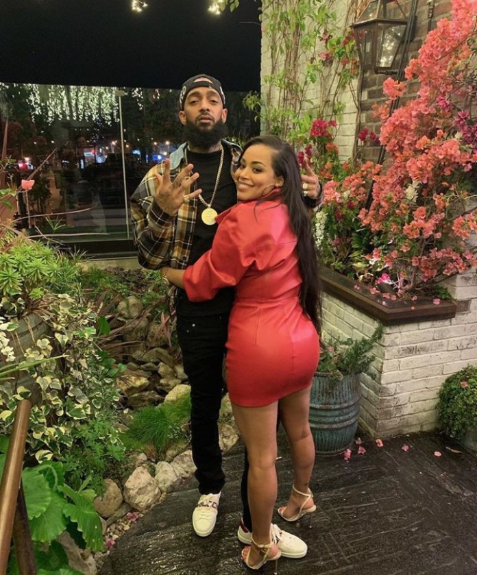 'Real Love Never Dies, When You See Me, You Will Always See Him' - Lauren London Tattoos Nipsey On Her Arm 1