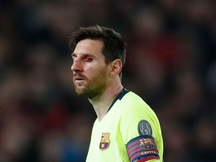 Manchester United's Rough Tackle DID Affect Lionel Messi In First Leg - Barcelona Coach 2