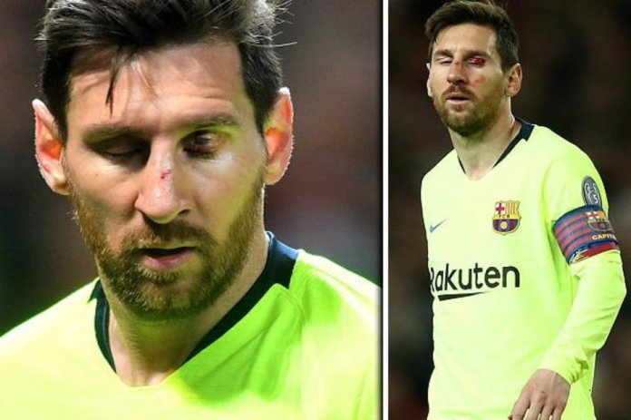 Manchester United's Rough Tackle DID Affect Lionel Messi In First Leg - Barcelona Coach 1