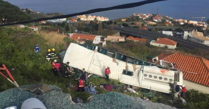 Madeira Bus Crash: 28 Dead As Coach Overturns On Portuguese Island 2