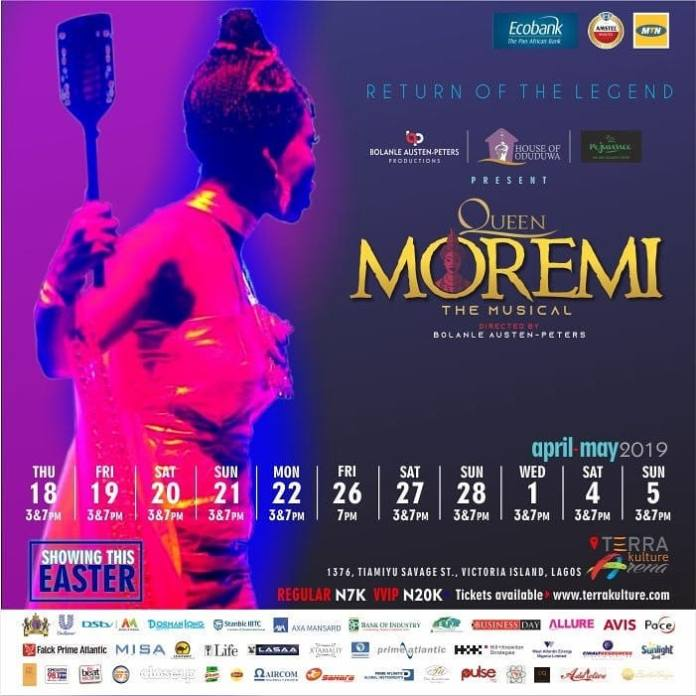 Return Of The Legend- Queen Moremi The Musical Is Back With A Bang! 4