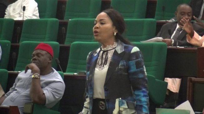 Femi Gbajabiamila Should Step Down For Me -  Nkeiruka Onyejeocha On House Of Reps Speakership 1