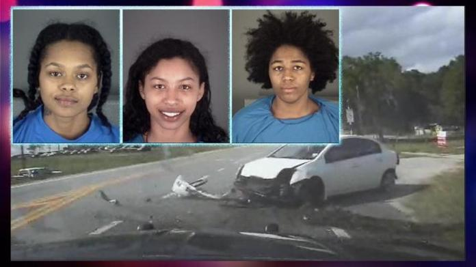 Three Naked Women Lead Police On Car Chase 2