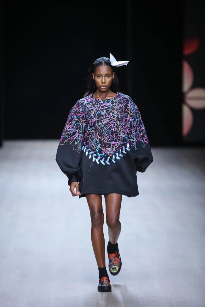 Refreshing! Papa Oppong New Collection At ARISE Fashion Week 2019 1
