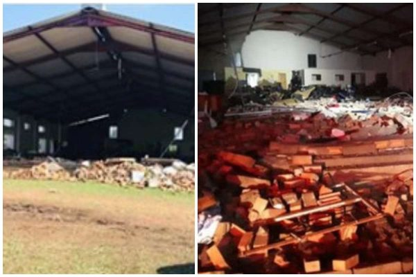 Thirteen Dead And Scores Injured After Church Collapses During Easter Passover Service 2