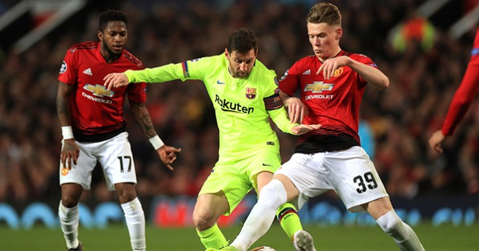Manchester United's Rough Tackle DID Affect Lionel Messi In First Leg - Barcelona Coach 3