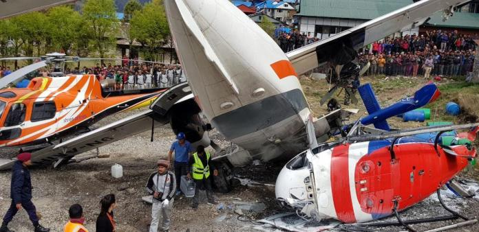 Three Killed, Three Others Injured As Plane Hits Helicopter At World's Most Dangerous Airport 2
